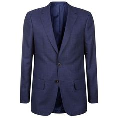 Gieves & Hawkes Wool, Silk And Linen Jacket (5,100 CNY) ❤ liked on Polyvore featuring men's fashion, men's clothing, men's outerwear, men's jackets, mens wool outerwear, mens wool jacket, mens silk jacket and mens linen jackets