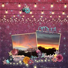 Ottawa summer nights at sunset  Done with the Summer Nights Collection by Bella Gypsy Designs  http://the-lilypad.com/store/Summer-Nights-Digital-Scrapbook-Collection.html  #digiscrap #bellagypsy #sunset #ottawa
