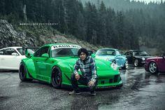 Akira Nakai San & RWB Porsche 993