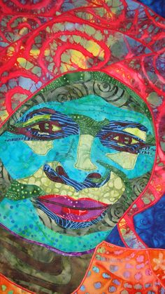 Awesome quilts--equally awesome women at Kalahari Quilts in Botswana! Owner/Artist Jenny Healy For more information visit her at http://www.tafalist.com/mem... or her fun blog at http://kalahariquilts.blogs... or the web site at http://www.kalahariquilts.com/