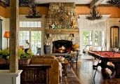Elevated Fireplace   Stone Fireplace Design : Stacked Stone Fireplace Design Fireplace ...
