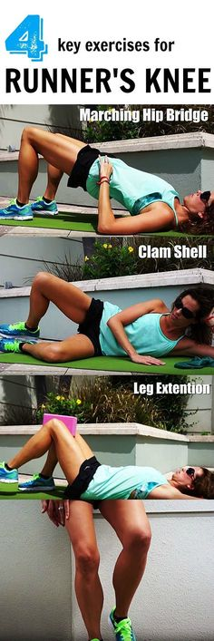 4 Key Exercises that can help to eliminate runner's knee pain
