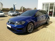 "2019 VW Golf VII 2.0 TSI R DSG For Sale Estimated instalment from R10,600 per month* Mileage: 15,000km – R679,900 Extras – Balance of 5 year/ 100 000 km full VW maintenance plan, Leather package ""Nappa""/Carbon Style"", 19″ Volkswagen R Pretoria alloy wheels, R ""Performance"" exhaust system, R ""Performance"" compound disc brakes in front, Keyless […] The post 2019 Volkswagen Golf VII 2.0 TSI R DSG (228KW) appeared first on TrackRecon℠ Classifieds."