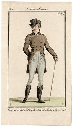 c.1810 costume parisien. 1067