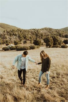 Gabriel Conover, San Diego wedding photographer. Playful, fun-loving engagement/couples shoot at Cuyamaca Rancho State Park in Julian California.
