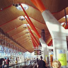 Madrid Barajas Airport Terminal 4.    Last been there: July 2011
