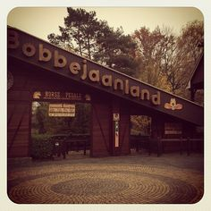 Bobbejaanland with retro effect in Instagram