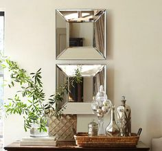 DIY:: Pottery Barn Inpired Mirror-LOVELY!!