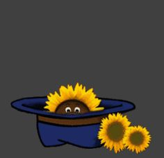 Happy Friday days friday sunflower gif happy friday days of the week good morning weekdays friday greeting