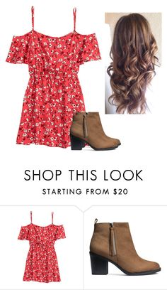 """""""❤️❤️"""" by hannahmcpherson12 ❤ liked on Polyvore featuring H&M"""