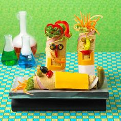 We love these Mad Scientist Wraps and are sure your kids will love them too! More fun snack ideas: www.bhg.com/...