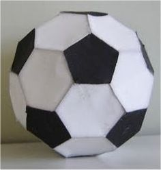 This papercraft looks like an ordinary soccer ball but this is taken from Super Smash Bros. A player can be kick this ball to deal a . Soccer Ball Crafts, Dungens And Dragons, Paper Models, Kids Hats, Beauty And The Beast, Diy For Kids, Paper Crafts, Creative, Dragon Ball