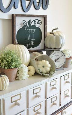 Farmhouse style signs for fall