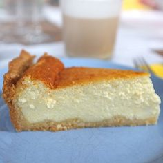 Tart Recipes, Cheesecake Recipes, Sweet Recipes, Cooking Recipes, Ricotta, Greek Desserts, Sweet Pie, Confectionery, Afternoon Tea