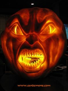 really scary pumpkin carving ideas | Scary Pumpkin Carving Patterns