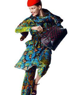 Alisa Ahmann by Greg Kadel for Numéro #163 May 2015 1