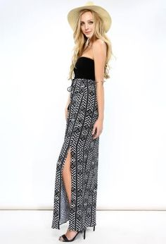 Abstract Patten Maxi Dress | Shop Dresses at Papaya Clothing