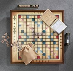 Mom - Swivelling Scrabble board (but so expensive!!!)