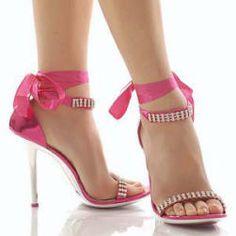 Pinky Pleasures With Diamanté Straps                                                                                                                                                                                 Mais