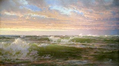 Pintura de William Trost Richards