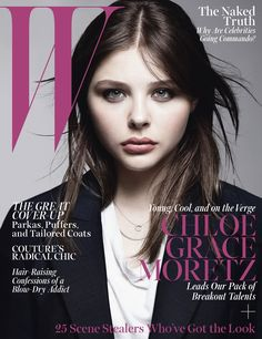 Chloe Grace Moretz on W's October 2013 cover.