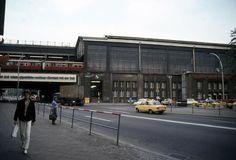 Friedrichstrasse der Bahnhofsvorplatz Ende der 70er