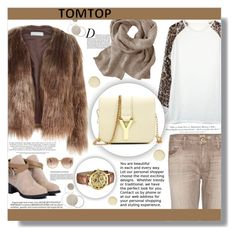 """TOMTOP"" by jenny007-281 ❤ liked on Polyvore featuring Related, Anja, True Religion, H&M, Whiteley, Tom Ford, women's clothing, women, female and woman"