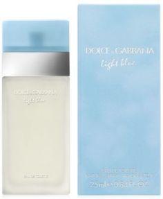 df61229100 Dolce&Gabbana Light Blue Eau de Toilette Spray, 0.84 oz. Light Blue Perfume,  Cyber