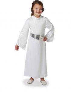 Rubie/'s Star Wars Princess Leia Costume Women/'s White Hooded Fancy Dress XS-LG