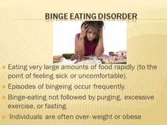 Knowing More About Eating Disorders