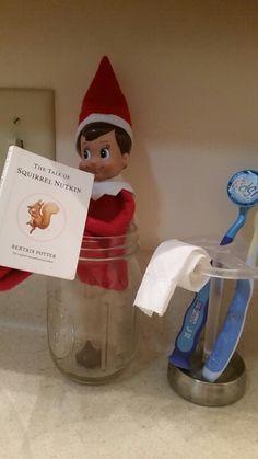 Elf on the Shelf - Bathroom Break