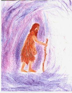 Waldorf ~ 5th grade ~ Ancient Mesopotamia ~ Gilgamesh's Wandering ~ main lesson book