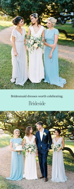 Celebrate the women in your life with Brideside. Make bridesmaid dresses the easiest part of wedding planning with our curated designer collections and complimentary help from our style consultants. Visit us in one of our showrooms or even try dresses on at home. Shopping for bridesmaid dresses has never been so easy! Get Started>>