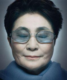 Yoko Ono by Platon