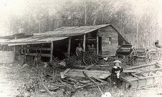 Seng's blacksmith shop 1920 - Courtesy of Glady Hood