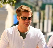Brad Pitt and Prada 54Hs Sunglasses