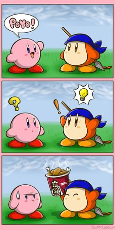 "Poyo! by SuperLakitu > Pollo is pronounced ""poyo"" in spanish, and pollo means chicken!"