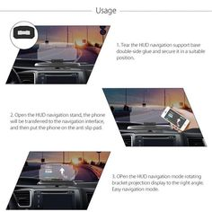 Universal HUD Head Up Display Car Cell phone GPS Navigation Image Reflector Holder Mount Samsung Accessories, Phone Accessories, Best Mobile Phone, Mobile Phones, Phone Packaging, Phone Store, Head Up Display, Gps Navigation, Smartphone