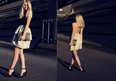 Wren (by Jessica Stein) http://lookbook.nu/look/3826551-Camilla-And-Marc-Wren-Dress-Zara-Sequin-Clutch