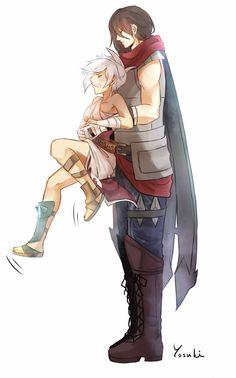 Talon and Riven 11 by Yosukii on DeviantArt