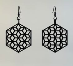 Awesome earrings you can snag for donating to my friend's projection mapping art project!  $35  http://www.kickstarter.com/projects/lumenoids/how-augmented-reality-sculpture