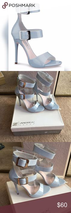 SALE TODAY ONLY! NIB Andrea Sky Blue Heels. Cute for any occasion! Rock the night out with classy yet sexy heels. Never worn. Not Zara- exposure purposes only. *moms closet Zara Shoes Heels