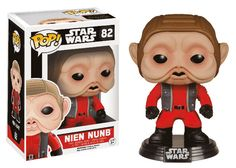 This is the Star Wars Force Awakens POP Nien Nunb Bobble Head Vinyl Figure that's produced by the neat folks at Funko. The figure looks great in the POP Vinyl style. Everyone is eagerly aw Star Wars Chewbacca, Star Wars Stormtrooper, Darth Vader, Pop Vinyl Figures, Funko Pop Figures, Tema Star Wars, Star Wars Vii, Starwars, Figurine Star Wars