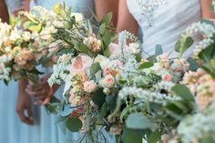 Coordination & Florals by: Breezy Day Weddings Photo by: George Street Photos Venue: Green Gables Garden Estate