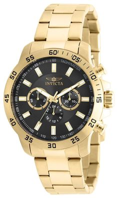 Invicta Men's 21506 Specialty Quartz Chronograph Black Dial Watch