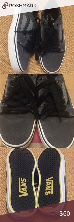 Vans gray suede/black sidestripe sneakers NWOT New. Never worn. No flaws. Size 9 1/2 Mens. Vans Shoes Sneakers