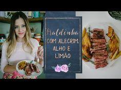 FRALDINHA MARINADA NO ALHO, LIMÃO E ALECRIM - YouTube
