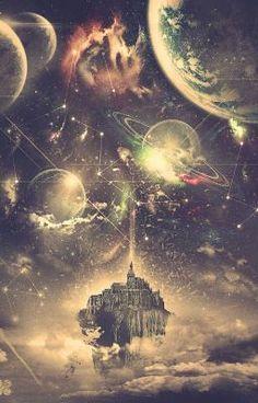 Ideas Space Illustration Art Cosmos For 2019 Psychedelic Art, Fantasy Landscape, Fantasy Art, Landscape Art, Wow Art, Galaxy Art, Galaxy Planets, Galaxy Wallpaper, Trippy Wallpaper