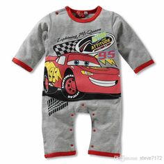 free shipping, $20.46/piece:buy wholesale  hot jumpsuit! lightning mcqueen cars romper cute boy girl baby clothes four colour coverall cotton outfit one-pieces 0-2.5y f22 o-neck,unisex,100% cotton on steve7172's Store from DHgate.com, get worldwide delivery and buyer protection service.