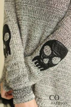 skull elbow patches - Google Search